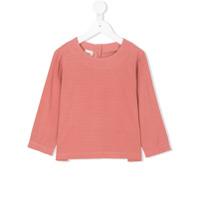 Caffe' D'orzo Blusa Com Abotoamento Posterior - Pink