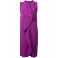 Ralph Lauren Vestido De Seda Sem Mangas - Pink & Purple