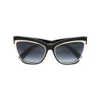 Dsquared2 Eyewear Óculos De Sol Modelo 'amber' - Preto