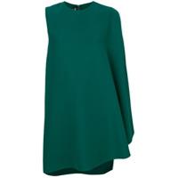 Calvin Klein 205W39Nyc Vestido Com Drapeado - Green