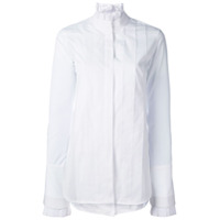 Ellery Camisa Com Pregas - Branco