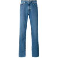 Calvin Klein Jeans Calça Jeans Reta - Azul