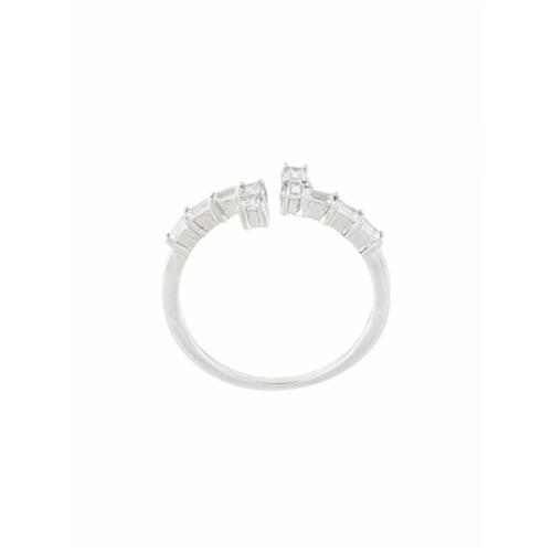 Imagem de V Jewellery Anel 'Asymmetry' - Metallic
