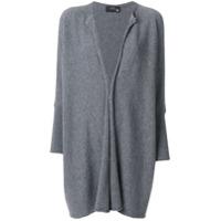 Boule De Neige Cardigã Oversized De Cashmere - Grey