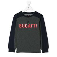 Bugatti Kids Moletom Com Logo Em Relevo - Azul