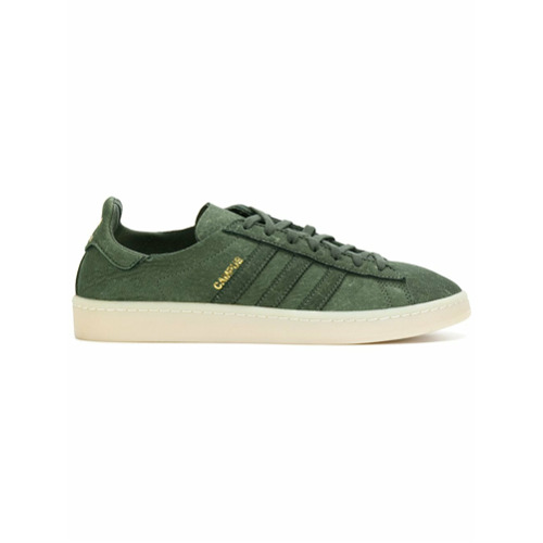 Adidas Tênis de couro e camurça 'Adidas Originals Campus Crafted Campus' - Green