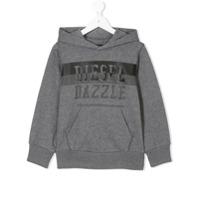 Diesel Kids Blusa De Moletom Com Estampa - Grey