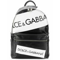 Dolce & Gabbana Mochila Com Logo - Preto