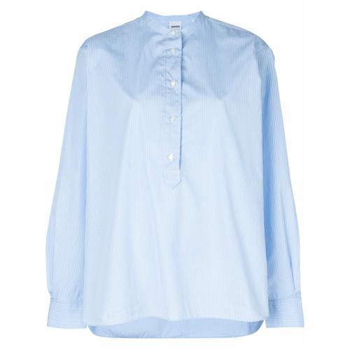 Imagem de Aspesi Camisa sem colarinho - Azul