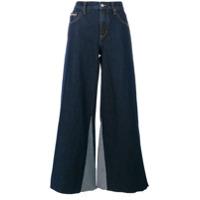 Ck Jeans Calça Jeans Flare - Azul