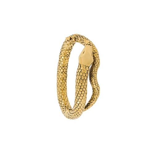 Imagem de Aurelie Bidermann Pulseira 'Snake' banhada a ouro - Metálico