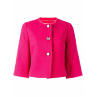 Ermanno Scervino Jaqueta Cropped - Pink & Purple