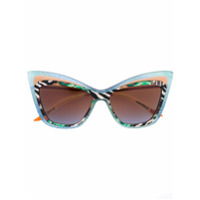 Christian Roth Eyewear Óculos De Sol 'rock'n Roth' - Green