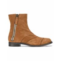 Chloé Ankle Boot 'lexie' De Camurça - Brown