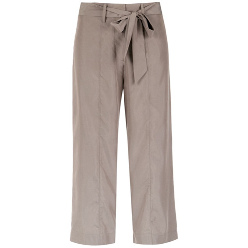 Fillity Calça pantacourt - Brown