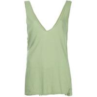 Bassike Blusa Decote V - Green