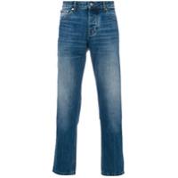 Ami Alexandre Mattiussi Calça Jeans Reta - Azul