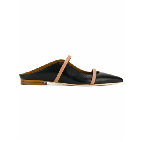 Imagem de Malone Souliers strappy slippers - Preto