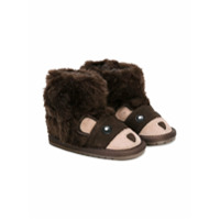Emu Kids Bota Com Contraste - Brown