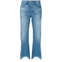 3X1 Calça Jeans Cropped 'austin' - Azul