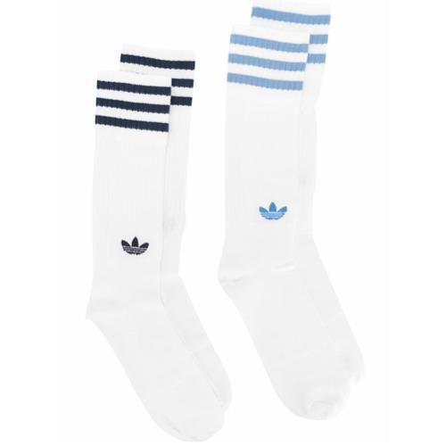 Imagem de Adidas Conjunto com dois pares de meias - Branco