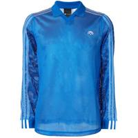 Adidas Originals By Alexander Wang Camisa Polo Mangas Longas - Azul