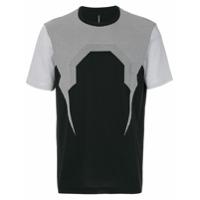 Blackbarrett Camiseta Com Padronagem - Preto