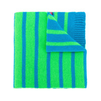 Ps By Paul Smith Cachecol Com Listras Dupla Face - Green