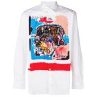 Comme Des Garçons Shirt Camisa Com Estampa - Branco