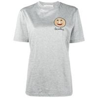 Christopher Kane Camiseta Com Estampa 'gugging' - Grey