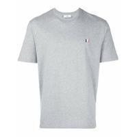 Ami Alexandre Mattiussi Camiseta Com Logo - Cinza