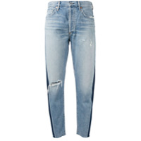 Citizens Of Humanity Calça Jeans Cropped 'liya' - Azul