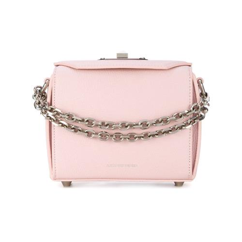 Imagem de Alexander McQueen Bolsa 'Box Bag 16' - Rosa