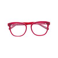 Chloé Eyewear Armação De Óculos Quadrada - Vermelho