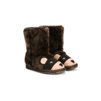 Emu Kids Bota 'urso' - Brown