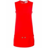 Courrèges Vestido Reto - Vermelho