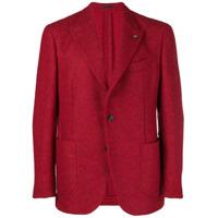 Gabriele Pasini Blazer Com Textura - Vermelho