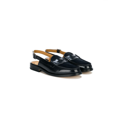Imagem de Gallucci Kids buckled slippers - Azul