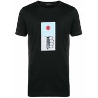 Diesel Black Gold Camiseta 'tyrone Lollypop' - Preto