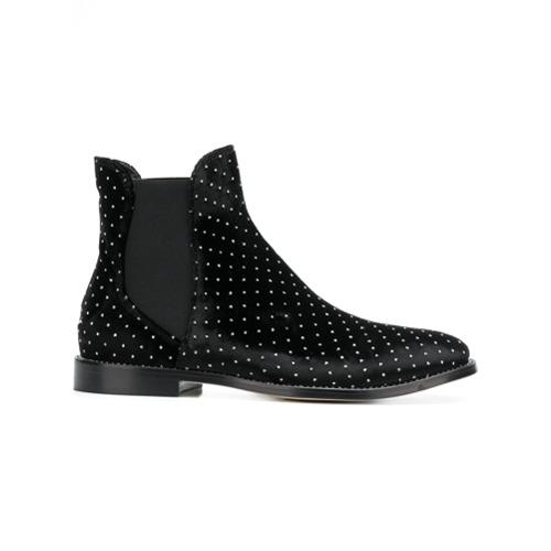 Imagem de Jimmy Choo Ankle boot 'Merri' de veludo - Preto