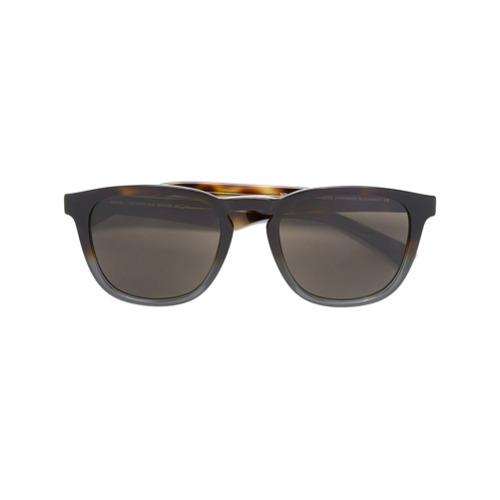 Óculos de sol 'Benson' marrom em acetato, Mykita. Acompanha estojo protetor.