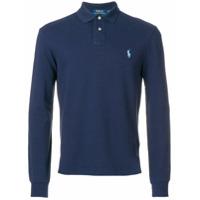 Polo Ralph Lauren Camisa Polo Slim - Azul