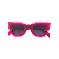 Céline Eyewear Óculos De Sol Em Acetato - Pink & Purple