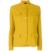 Aspesi Jaqueta Com Abotoamento - Amarelo E Laranja