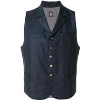 Eleventy Colete Tweed - Azul