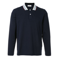 Cerruti 1881 Camisa Polo Com Contraste - Azul