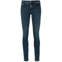 Ck Jeans Calça Jeans Skinny Cintura Média - Azul