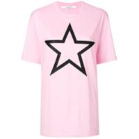 Givenchy Camiseta Com Estampa De Estrela - Pink & Purple