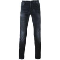 Carhartt Calça Jeans Slim Fit - Preto