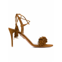 Aquazzura Sandália Modelo 'wild Thing' - Brown